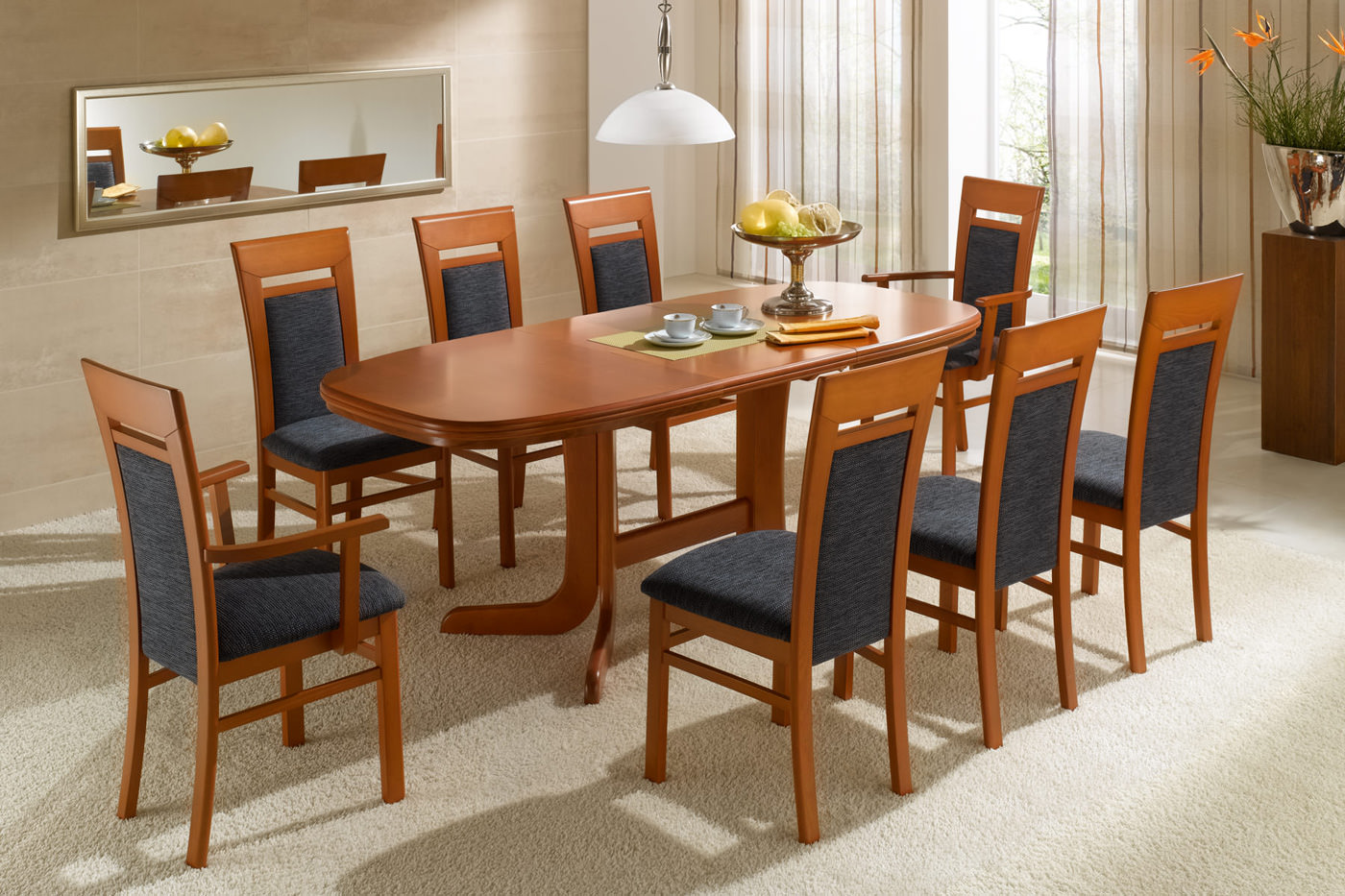 esszimmerm bel tische st hle und eckb nke. Black Bedroom Furniture Sets. Home Design Ideas